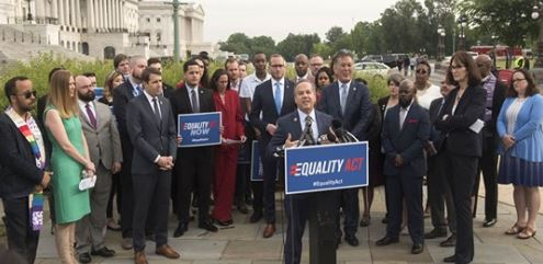 House passes sweeping LGBTQ nondiscrimination bill in historic vote