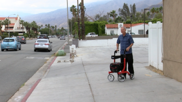 Palm Springs Man Claims Uber Driver Left and Canceled Trip due to his Walker