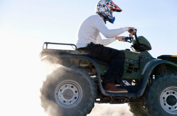Teenager on ATV Runs Red Light, Dies in Collision with Pickup