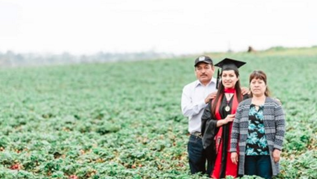 SDSU Grad Posts Pic With Farm Worker Parents to Honor Their Sacrifice