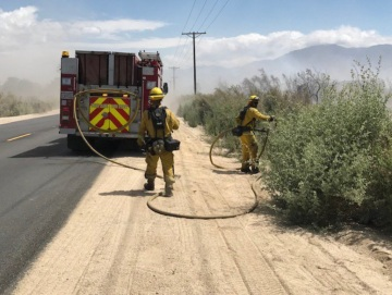 Roads Reopen With Full Containment Of Thermal Fire