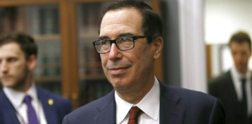 Mnuchin rejects Hill request to hand over Trump tax returns