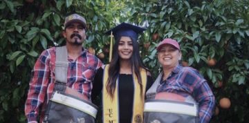 Latina college senior's tribute to immigrant farm worker parents goes viral