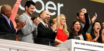 Uber stumbles in trading debut