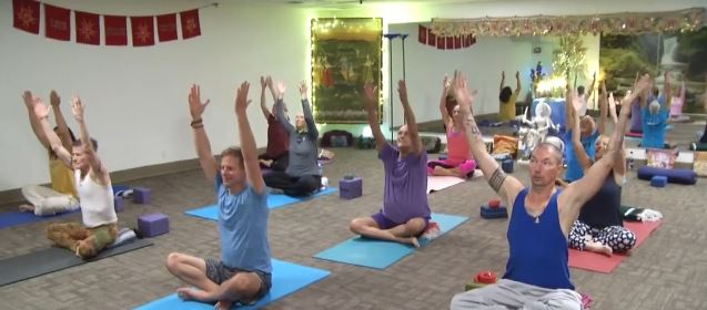 NBCares: Urban Yoga at Desert Aids Project