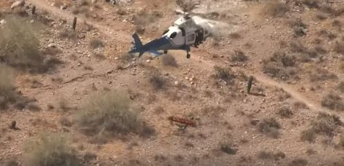 Arizona Helicopter Rescue of Injured 74-Year-Old Hiker Spins Out of Control