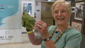 Wife of D-Day Paratrooper Shares Stories Before C-47 Flight