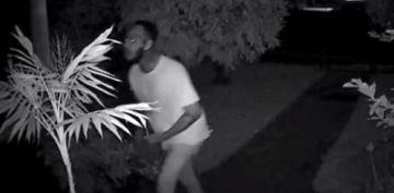 Home Security Camera Captures Man Brutally Beating Woman in San Bernardino