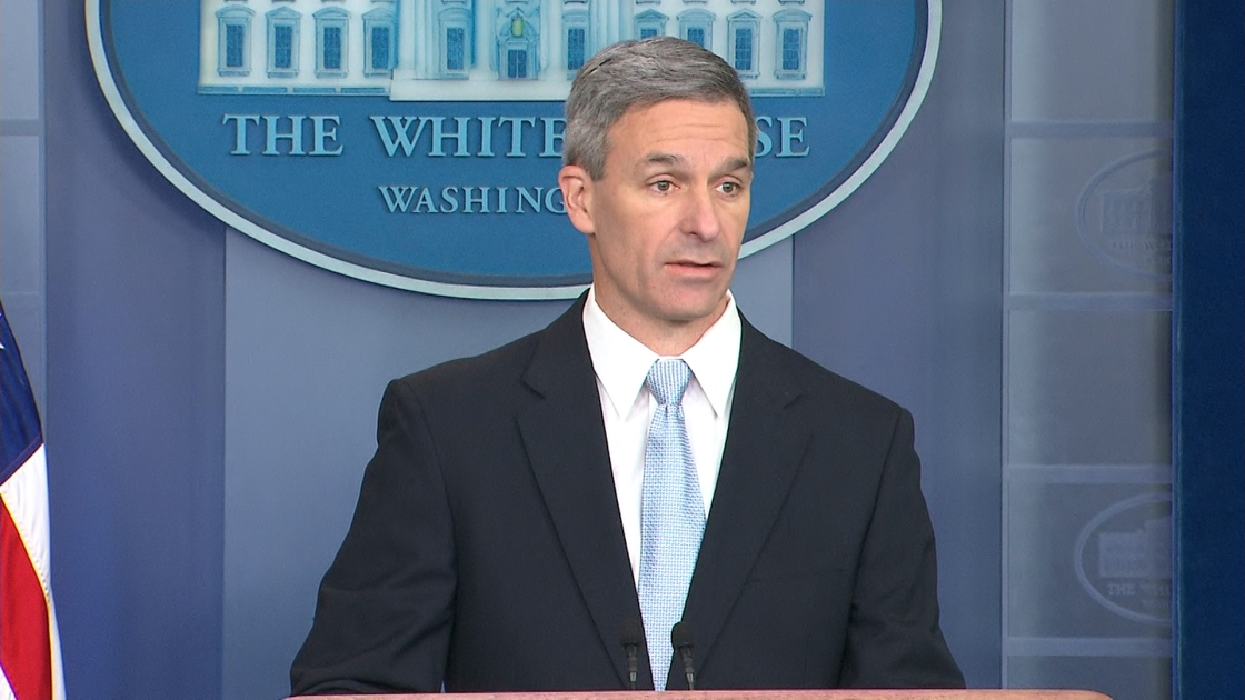 Judge says Ken Cuccinelli unlawfully appointed to lead US immigration agency