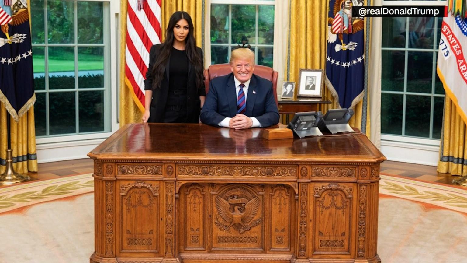 Kim Kardashian West makes another White House visit to talk criminal justice reform