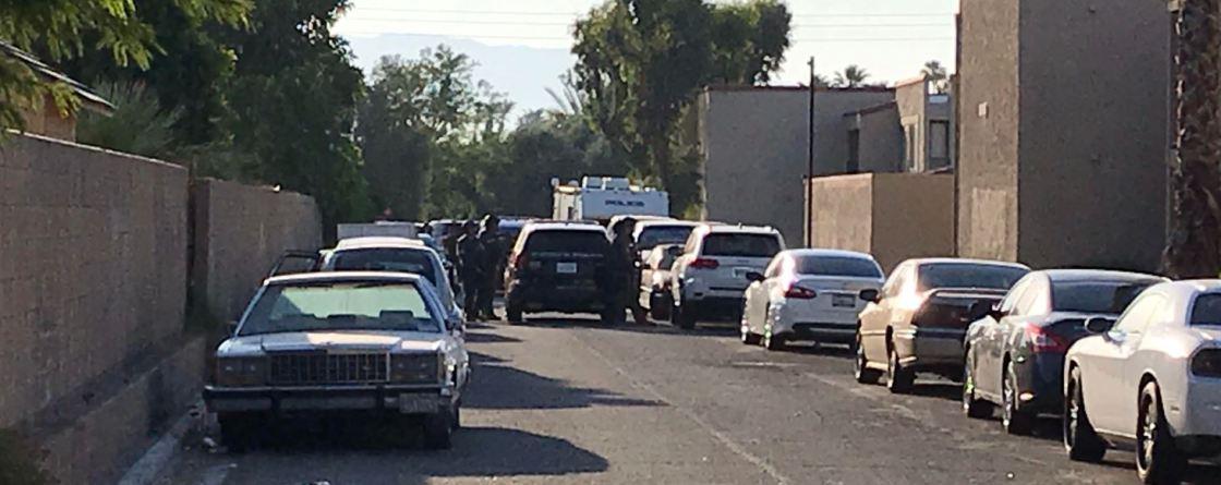 Indio Gas Station Brawl Triggers Standoff; Five in Custody; One Hospitalized