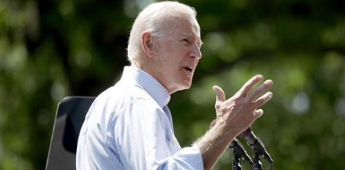 Biden camp fixes climate plan after reports it copied other writings