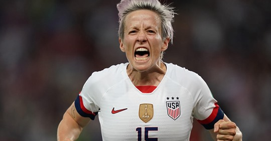 Rapinoe Scores Twice as U.S. Women Beat France, 2-1, to Advance to World Cup Semifinals