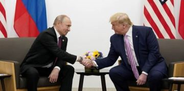 Smiling Trump tells Putin: 'Don't meddle in the election'