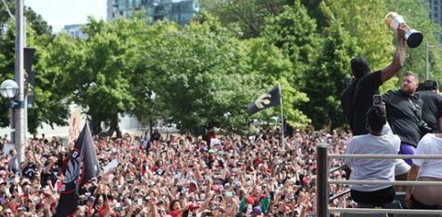 Gunfire Erupts as Huge Crowds Gather for Toronto Raptors Parade