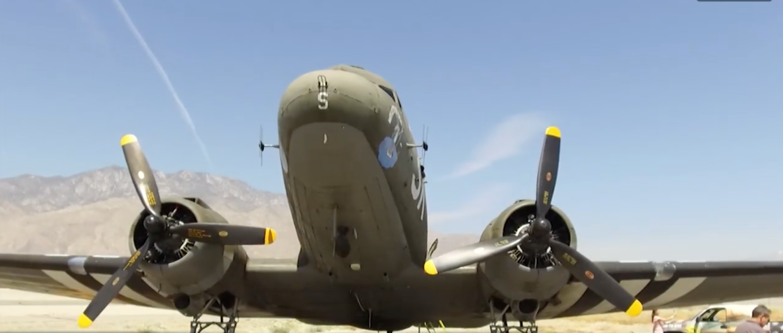 Palm Springs Air Museum Gives Widow of D-Day Veteran the Flight of a Lifetime