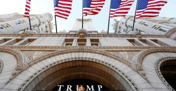 Trump hotel in Washington charged Secret Service $200,000 in president's first year
