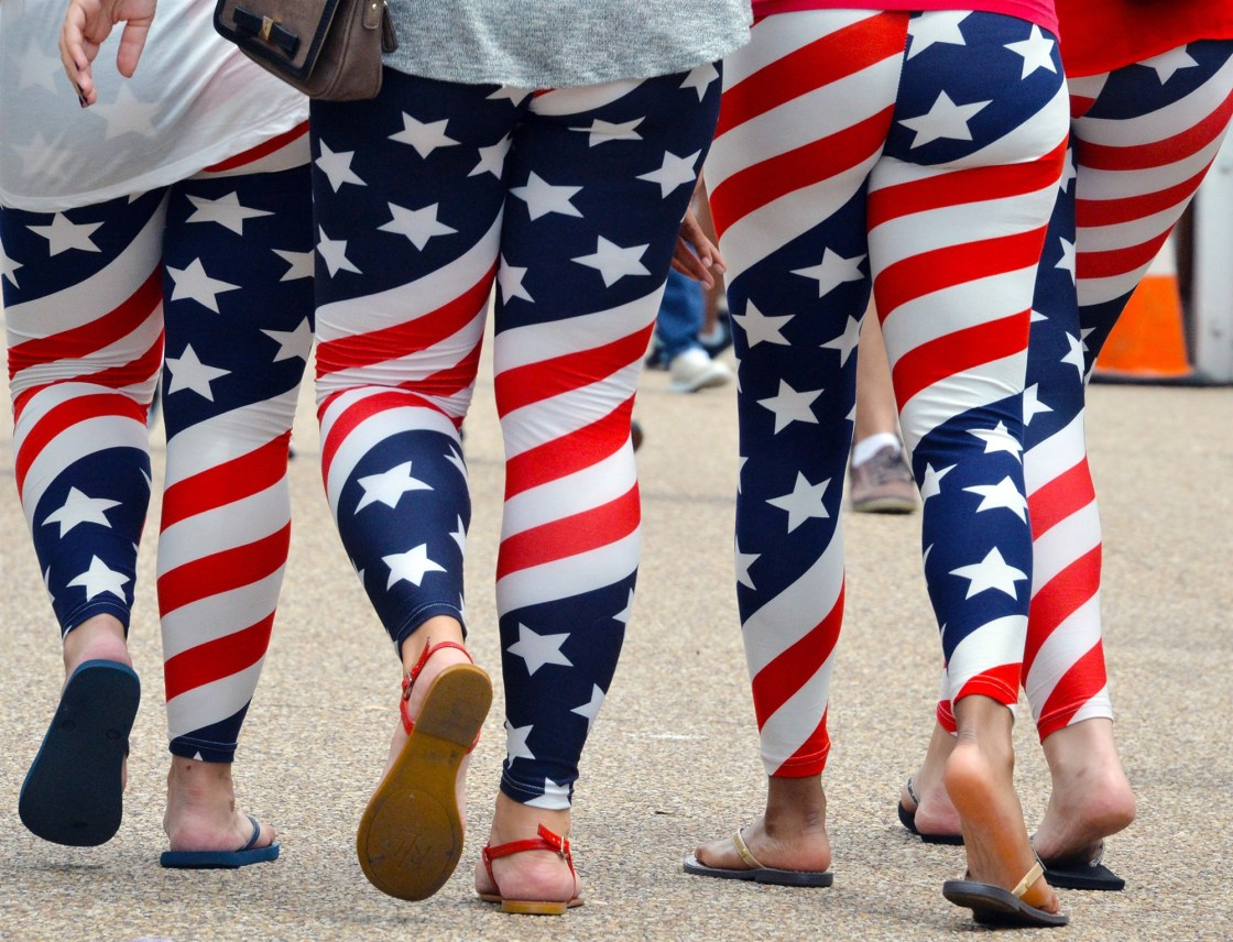 The Flag Clothing You're Wearing For July 4 is Technically Illegal