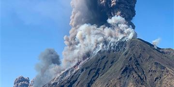 Volcano Erupts on Italian Island of Stromboli, Killing One Person