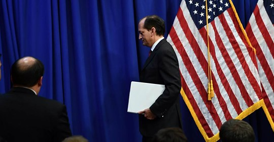 Trump Labor Secretary Acosta resigning after criticism over Epstein plea deal in sex case