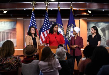 'The agenda of white nationalists': AOC, other congresswomen respond to Trump's attacks