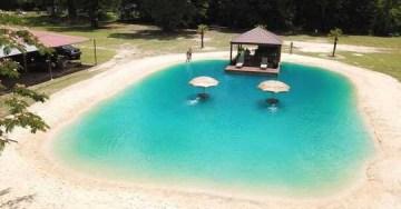 This Louisiana-based company makes waves turning backyards into beaches
