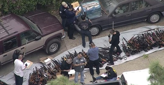Man Charged in Connection with Weapons Cache at Bel-Air Home