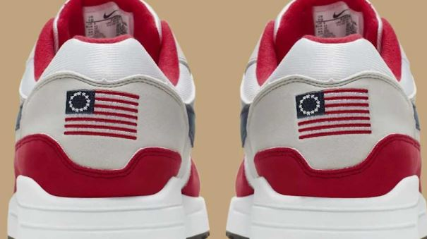 Nike Pulls Sneakers With 'Betsy Ross