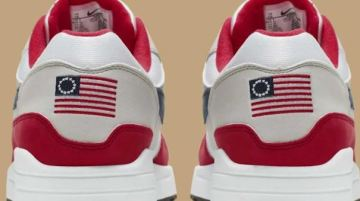 Nike Pulls Sneakers With 'Betsy Ross' American Flag After Colin Kaepernick Complains