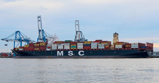 Ship in Record Cocaine Bust Seized, Anchored in Delaware Bay