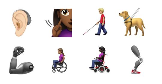 Apple announces 'disability-themed emojis' to arrive in the fall