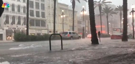 Storms Bring Flooding to New Orleans