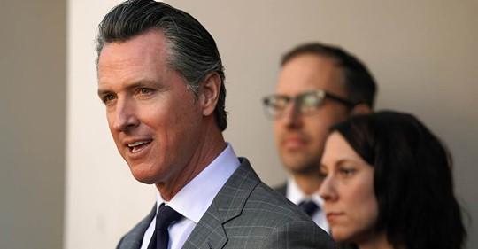 California Governor Setting Standard in COVID-19 Fight