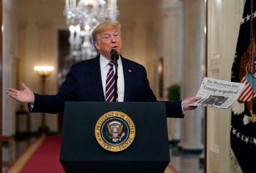 Appeals court tosses Democrats' emoluments lawsuit against Trump