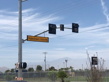 Cathedral City Announces Installation Of New `HAWK' Crosswalk Signals