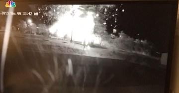 A KFC in North Carolina Explodes on Camera
