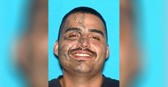 Man With Face Tattoo Identified as Suspect in Fatal San Bernardino Stabbing