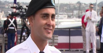 Soldier Realizes His Dream of Becoming a U.S. Citizen