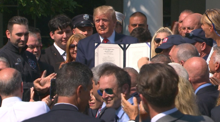 Trump signs 9/11 Victim Compensation Fund extension