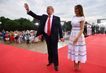 Trump's costly July Fourth event bankrupted Washington's security, anti-terror fund