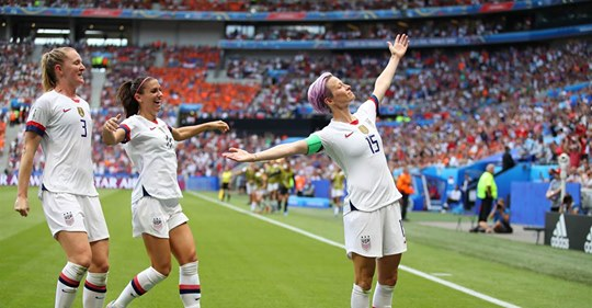 They've notched another World Cup win. Now they're looking for their next victory: equal pay