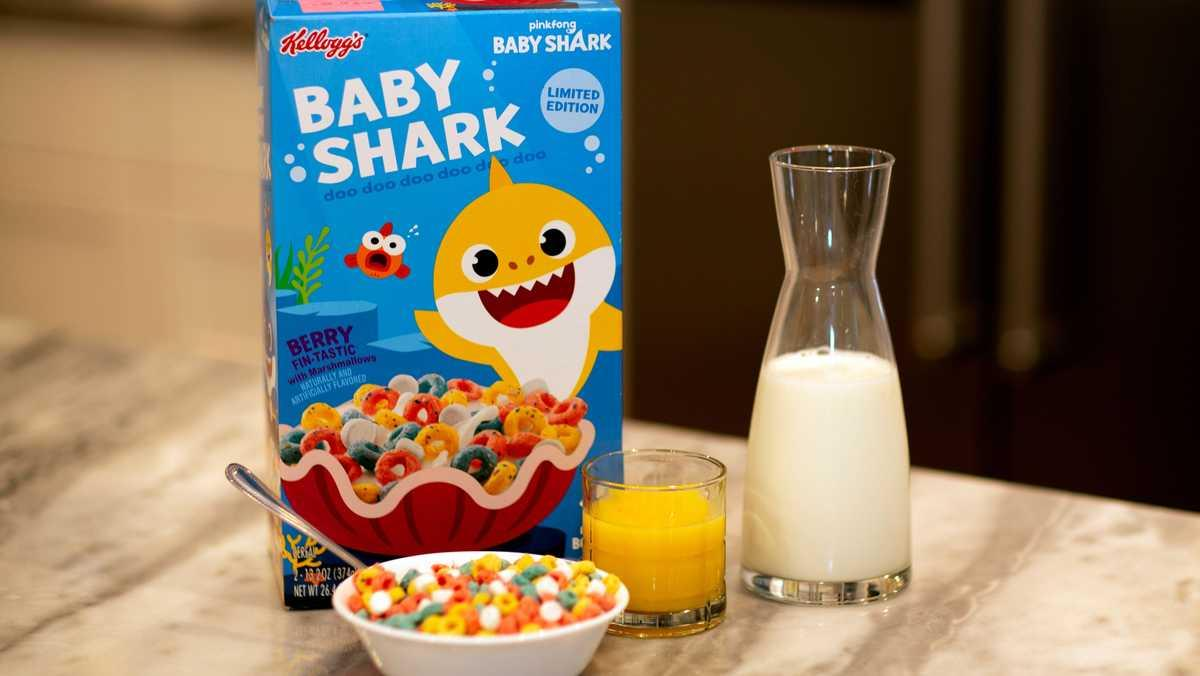 Baby Shark cereal launching this weekend