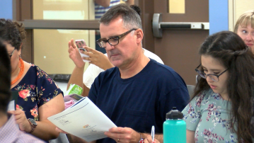 Newly Hired Teachers Prepare for the School Year