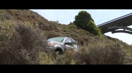 Search and rescue responding to car over cliff in Big Sur, second this week