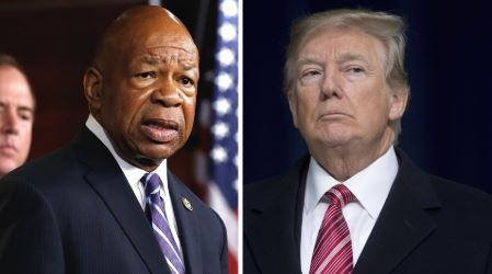 'Too bad:' Trump reacts to burglary at Cummings' Baltimore home after week of attacks