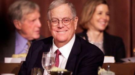 David Koch, billionaire businessman and influential donor, dies