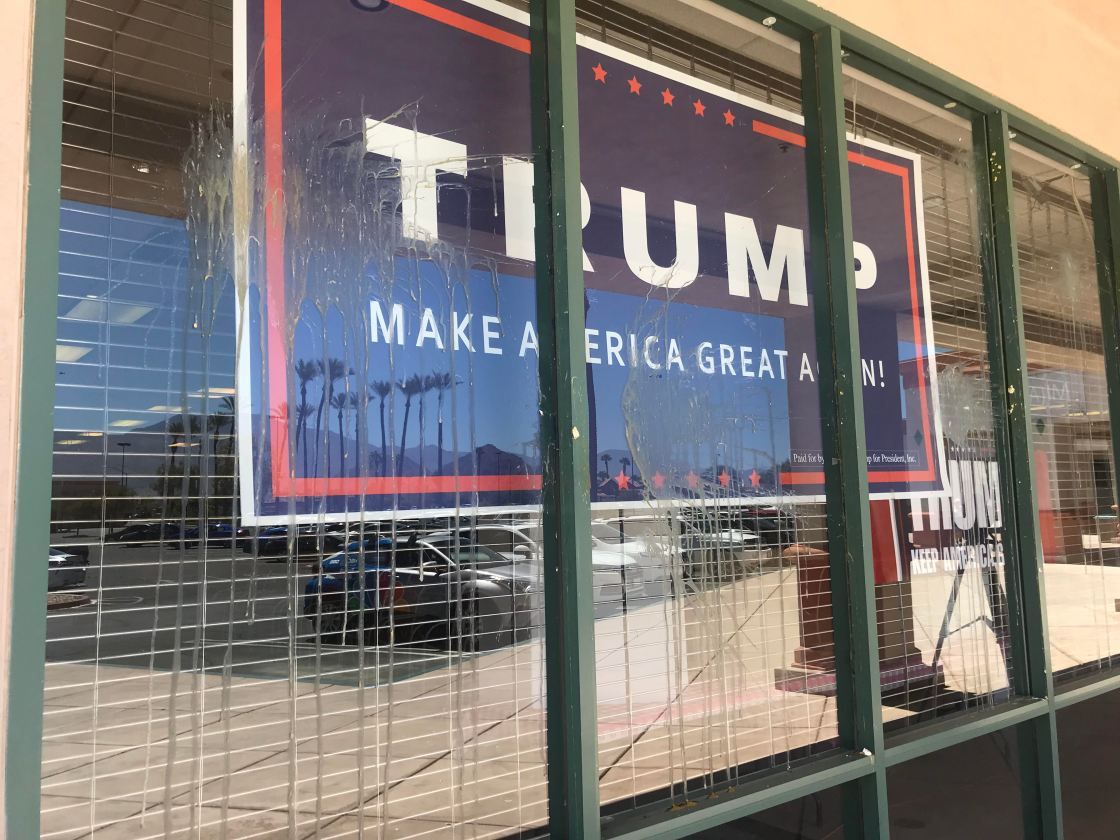 Republican Headquarters Gets Egged Following Ice Cream Social