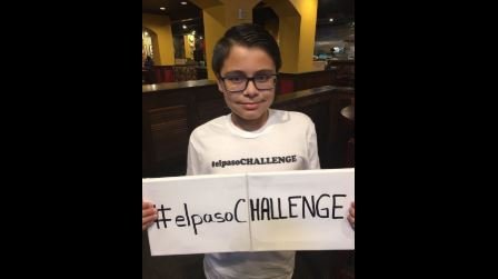 An 11-year-old started the 'El Paso Challenge' to help his community heal