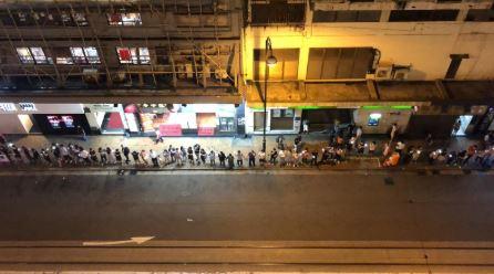 Human chain across Hong Kong expresses solidarity and determination, say protesters