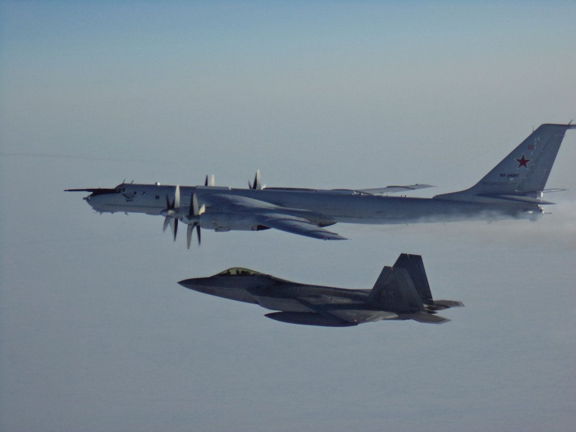 US and Canadian jets intercept Russian reconnaissance aircraft off Alaska